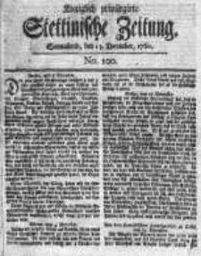 Stettinische Zeitung. Königlich privilegirte 1760, Nr 100