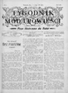 Tygodnik Mód i Powieści. Pismo ilustrowane dla kobiet 1907, Nr 7