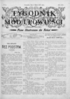 Tygodnik Mód i Powieści. Pismo ilustrowane dla kobiet 1907, Nr 10