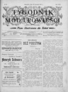 Tygodnik Mód i Powieści. Pismo ilustrowane dla kobiet 1907, Nr 48