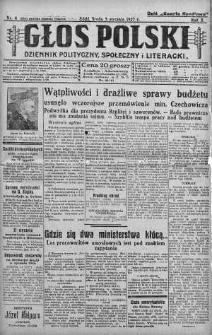 Głos Polski : dziennik polityczny, społeczny i literacki 5 styczeń 1927 nr 4