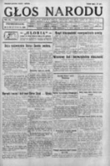 Głos Narodu 1931, Nr 105