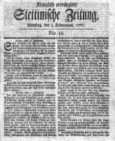 Stettinische Zeitung. Königlich privilegirte 1767, Nr 10