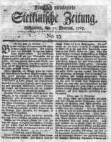 Stettinische Zeitung. Königlich privilegirte 1767, Nr 23