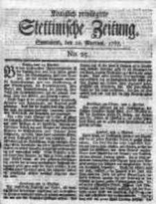 Stettinische Zeitung. Königlich privilegirte 1767, Nr 25