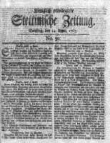 Stettinische Zeitung. Königlich privilegirte 1767, Nr 30
