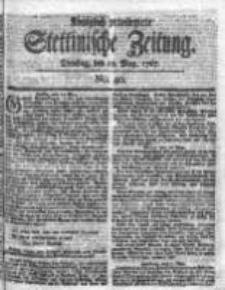 Stettinische Zeitung. Königlich privilegirte 1767, Nr 40