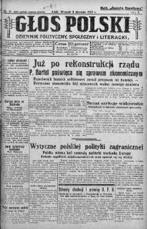 Głos Polski : dziennik polityczny, społeczny i literacki 11 styczeń 1927 nr 10