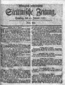 Stettinische Zeitung. Königlich privilegirte 1767, Nr 50