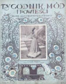 Tygodnik Mód i Powieści. Pismo ilustrowane dla kobiet 1908, Nr 6