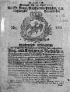 Wochentliche Breslauische auf das Interesse der Commercien der Schlesischen Lande Eingerichtete Frag-und Anzeigung-Nachrichten 1788, Nr 16