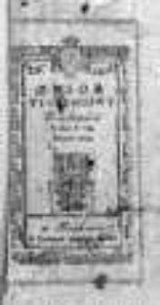 Zbiór Wiadomości Tygodniowych 1784, II