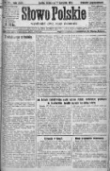 Słowo Polskie 1921, R.26, II, Nr 171