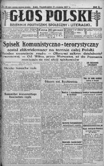 Głos Polski : dziennik polityczny, społeczny i literacki 17 styczeń 1927 nr 16