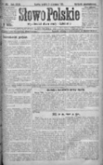 Słowo Polskie 1921, R.26, II, Nr 240