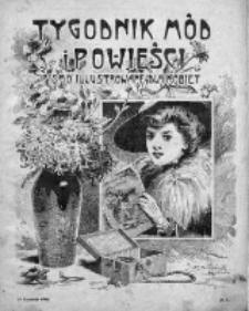 Tygodnik Mód i Powieści. Pismo ilustrowane dla kobiet 1909, Nr 3