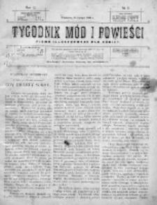 Tygodnik Mód i Powieści. Pismo ilustrowane dla kobiet 1909, Nr 8