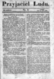 Przyjaciel Ludu czyli Tygodnik potrzebnych i pożytecznych wiadomości 1843/44, R.10, nr 3