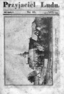 Przyjaciel Ludu czyli Tygodnik potrzebnych i pożytecznych wiadomości 1843/44, R.10, nr 10