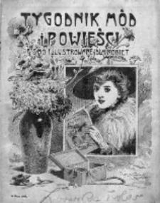 Tygodnik Mód i Powieści. Pismo ilustrowane dla kobiet 1909, Nr 19