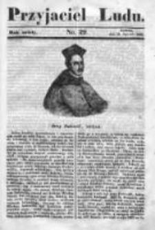 Przyjaciel Ludu czyli Tygodnik potrzebnych i pożytecznych wiadomości 1839/40, R.6, nr 29