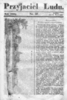 Przyjaciel Ludu czyli Tygodnik potrzebnych i pożytecznych wiadomości 1839/40, R.6, nr 37