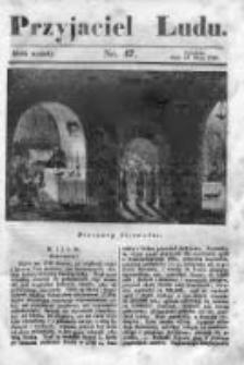 Przyjaciel Ludu czyli Tygodnik potrzebnych i pożytecznych wiadomości 1839/40, R.6, nr 47
