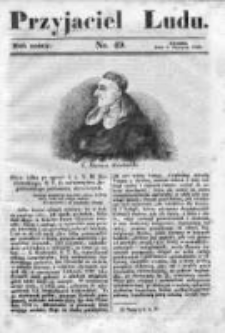 Przyjaciel Ludu czyli Tygodnik potrzebnych i pożytecznych wiadomości 1839/40, R.6, nr 49