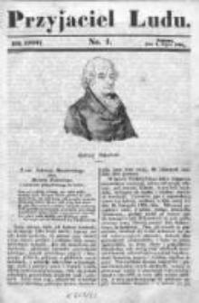 Przyjaciel Ludu czyli Tygodnik potrzebnych i pożytecznych wiadomości 1840/41, R.7, nr 1