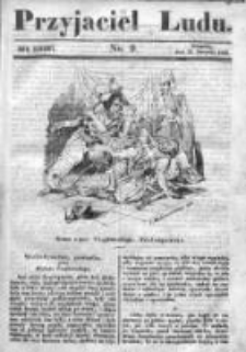 Przyjaciel Ludu czyli Tygodnik potrzebnych i pożytecznych wiadomości 1840/41, R.7, nr 9