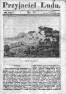 Przyjaciel Ludu czyli Tygodnik potrzebnych i pożytecznych wiadomości 1840/41, R.7, nr 16