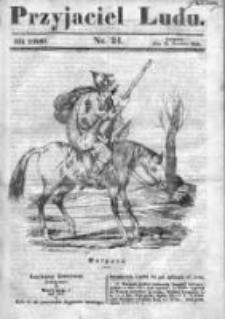 Przyjaciel Ludu czyli Tygodnik potrzebnych i pożytecznych wiadomości 1840/41, R.7, nr 24