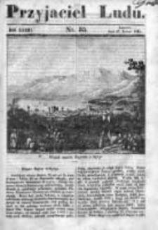 Przyjaciel Ludu czyli Tygodnik potrzebnych i pożytecznych wiadomości 1840/41, R.7, nr 35