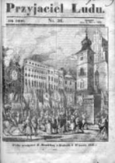 Przyjaciel Ludu czyli Tygodnik potrzebnych i pożytecznych wiadomości 1840/41, R.7, nr 36