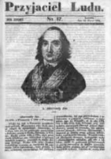 Przyjaciel Ludu czyli Tygodnik potrzebnych i pożytecznych wiadomości 1840/41, R.7, nr 37
