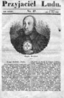 Przyjaciel Ludu czyli Tygodnik potrzebnych i pożytecznych wiadomości 1840/41, R.7, nr 47