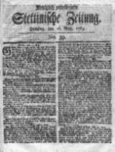 Stettinische Zeitung. Königlich privilegirte 1769, Nr 39