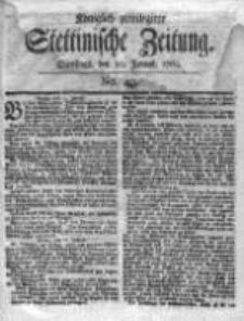 Stettinische Zeitung. Königlich privilegirte 1769, Nr 49