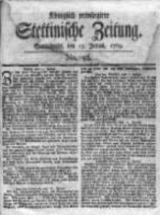 Stettinische Zeitung. Königlich privilegirte 1769, Nr 56