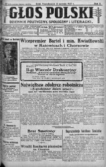 Głos Polski : dziennik polityczny, społeczny i literacki 31 styczeń 1927 nr 30