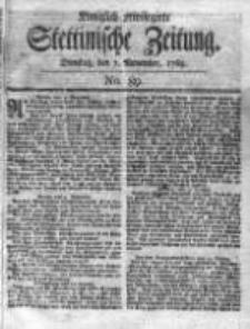 Stettinische Zeitung. Königlich privilegirte 1769, Nr 89
