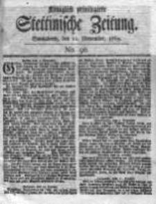 Stettinische Zeitung. Königlich privilegirte 1769, Nr 90