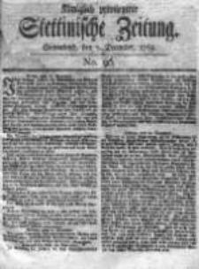 Stettinische Zeitung. Königlich privilegirte 1769, Nr 96