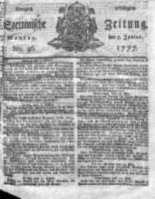 Stettinische Zeitung. Königlich privilegirte 1777, Nr 46