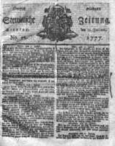 Stettinische Zeitung. Königlich privilegirte 1777, Nr 55