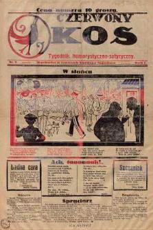 Czerwony Kos : gwiżdże co sobotę i wygwizduje wszystko 1924 nr 5