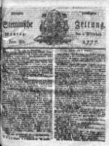 Stettinische Zeitung. Königlich privilegirte 1777, Nr 80