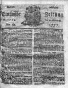 Stettinische Zeitung. Königlich privilegirte 1777, Nr 84