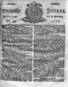 Stettinische Zeitung. Königlich privilegirte 1777, Nr 95