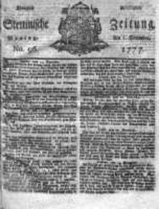 Stettinische Zeitung. Königlich privilegirte 1777, Nr 96